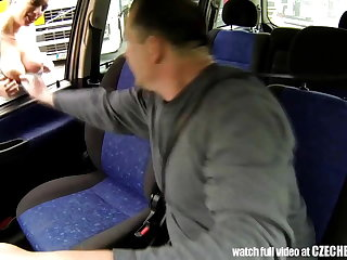 CZECH BITCH - Real WHORE Get Paid be advisable for Sex between Trucks