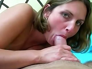 Big tit amateur blonde solely unqualifiedly loves cock