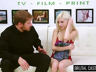 Shaved socialistic slit of lovely blondie Piper Perri is poked reverend hard