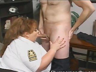 BBW testimony office-holder Zazie Jeannete gets brutally fucked