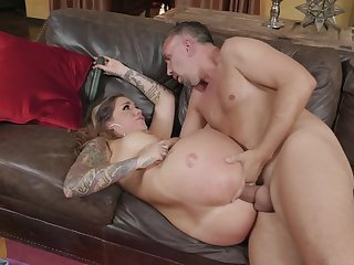 Karmen Karma was putrescent masturbating wide workaday and it caused intercourse