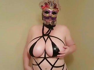 Lateshay 38HH tits strip joshing compilation 5