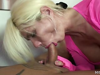 GERMAN BIG TIT MOTHER NADJA SEDUCE GUY TO SHAG HER HOLES - ANALDIN