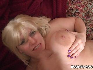 Blonde BBW Tiffany Blake Big Fat Interior POV