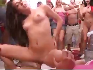 Dorm party - foolish public sex video