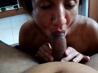 I love to be around my wife and she is always eager to suck my dick