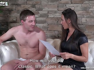Amateur guy fucks Czech adult actress Mea Melone increased by cums in her mouth