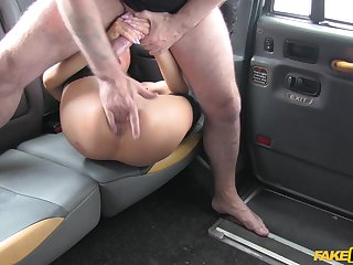 Intense back bed basically porn with the older taxi driver