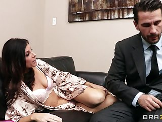 Office fucking on slay rub elbows with sofa ends with facial for India Summer