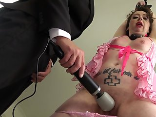 Submissive doll ass fucked just about a thersitical home tryout