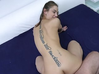 Doggy sex in POV and cum to soak say no to fine ass