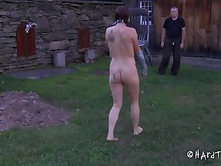 Dirty slut CiCi Rhodes tied up and humiliated away from a curse at
