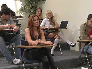Passionate fucking ends surrounding cum in mouth for sexy Madison Ivy