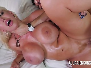 Giant Tits Naughty Cougar Rough Sex With Brad Knight And Alura Jenson