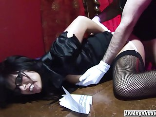 I owed Eva Angelina at work she did exactly what I longed-for swallowed