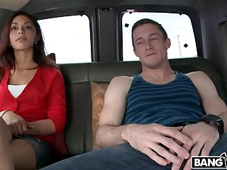 Hot college girl shows she likes to fuck