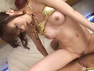 Creampie ending after passionate fucking with Yui Natsuki