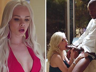 Super Hot hotties love three way hookup with BIG BLACK Horseshit