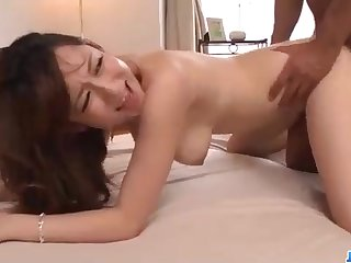 Astonishing Chinese honey, Reon Otowa got respecting and sopping with her married neighbor next door